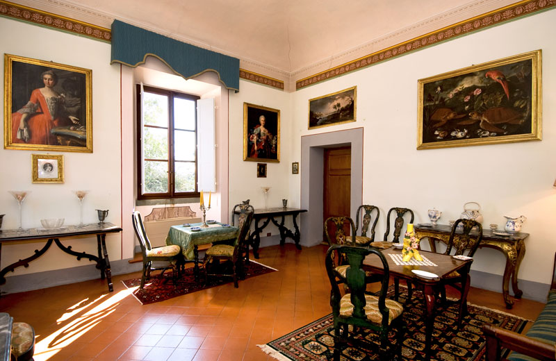 Villa Bernardini Museo Toscana