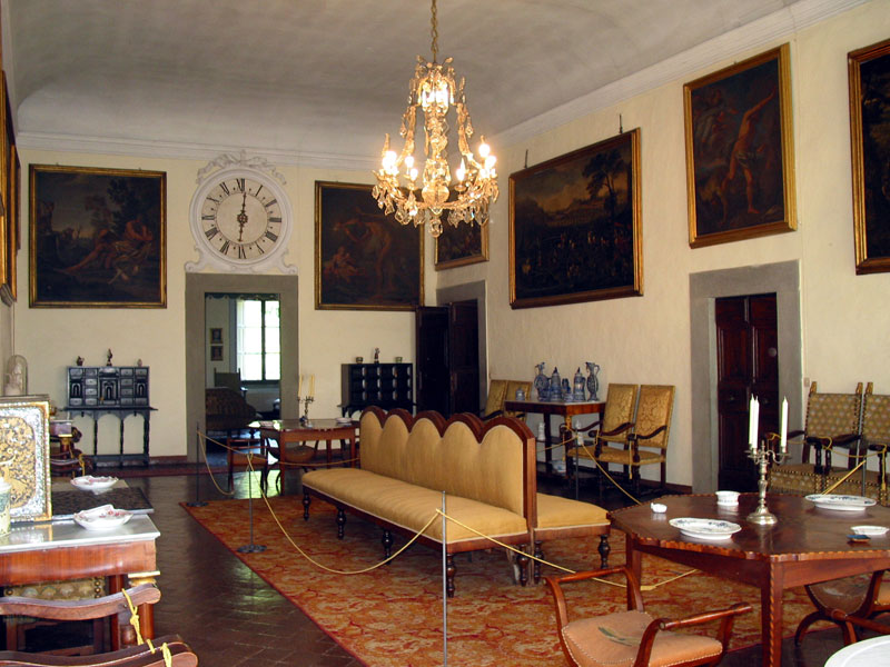 Villa Bernardini sala da ballo