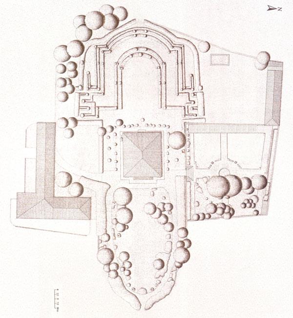 Villa Bernardini piantina
