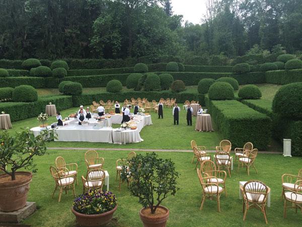 Villa Bernardini staff Ricevimenti