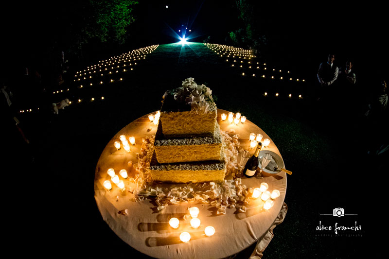 Wedding Cake - Villa Bernardini