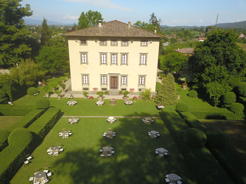 Il ricevimento perfetto a Villa Bernardini