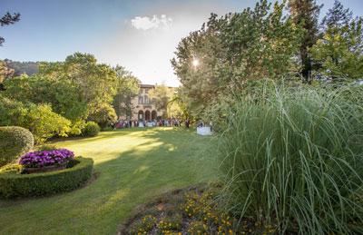 Il giardino romantico di Villa Bernardini