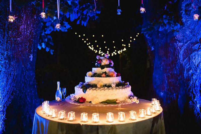 Wedding Cake a Villa Bernardini