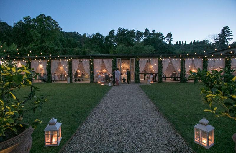 Matrimonio senza problemi a Villa Bernardini