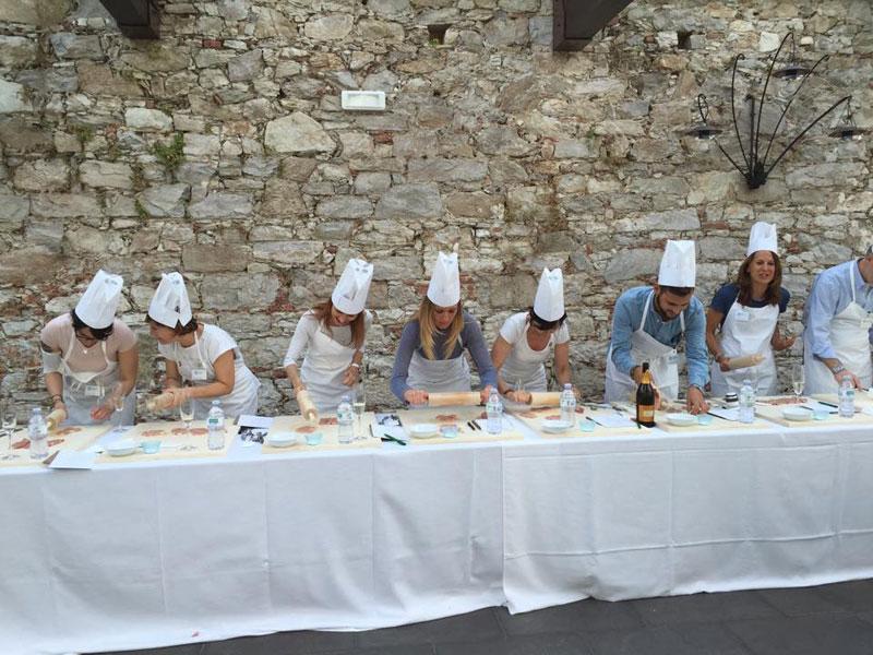 Cooking show a Villa Bernardini