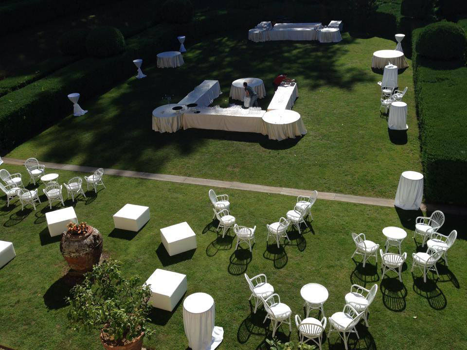 Aperitivo di nozze Villa Bernardini