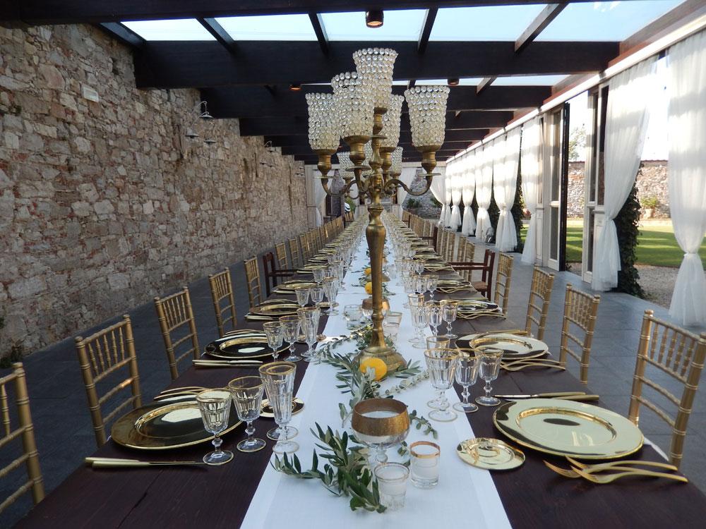 Banchetto di nozze Villa Bernardini