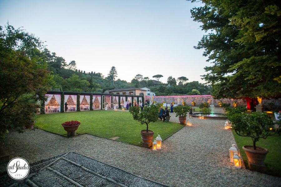 Matrimonio in giardino - Villa Bernardini
